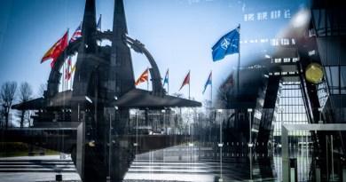 NATO headquarters flag star Photo Credit: NATO