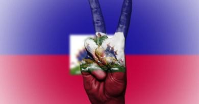 haiti flag peace