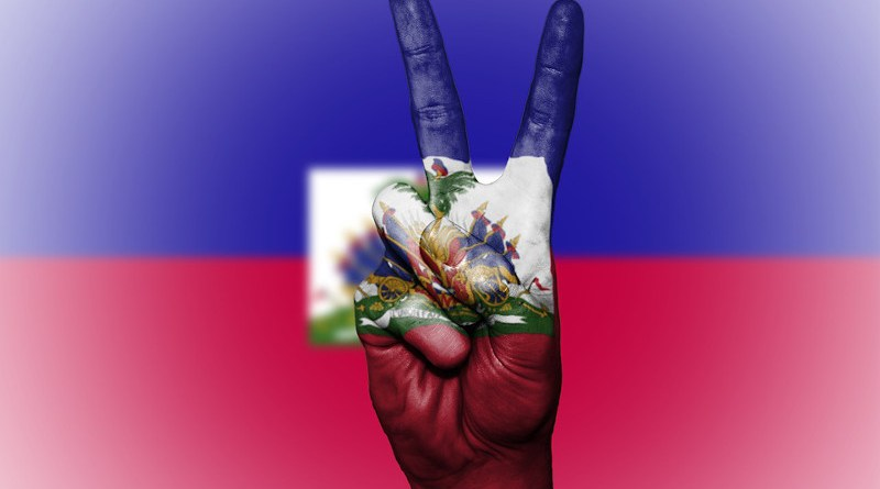 haiti flag peace