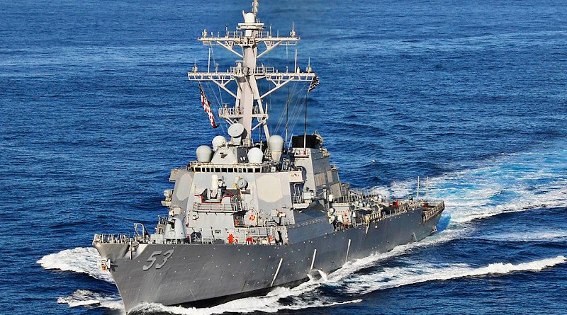 File photo of USS John Paul Jones. U.S. Navy photo by Mass Communication Specialist 3rd Class Joseph Pol Sebastian Gocong