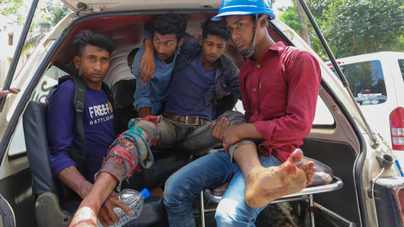 Bangladesh: Police Shoot Dead Five Protesters At China-Financed Power Plant
