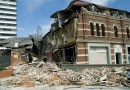 Rubble after the 2011 earthquake in Christchurch, New Zealand. CREDIT New Zealand Defence Force