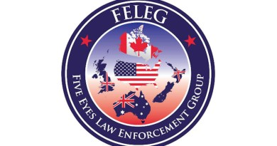FELEG Five Eyes Law Enforcement Group logo