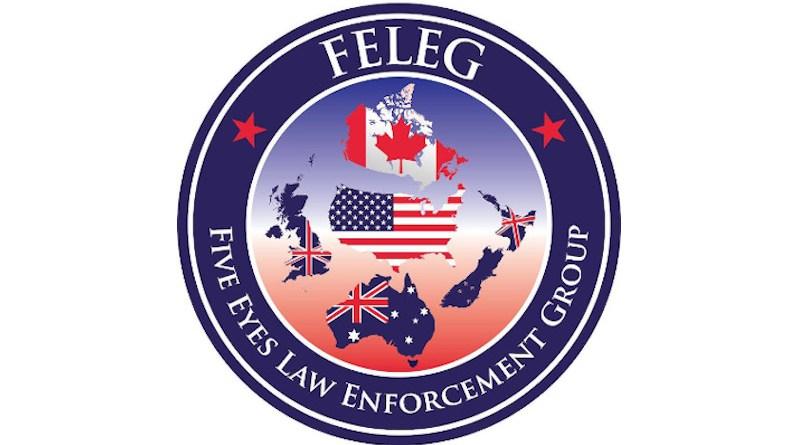 FELEG Five Eyes Law Enforcement Group logo