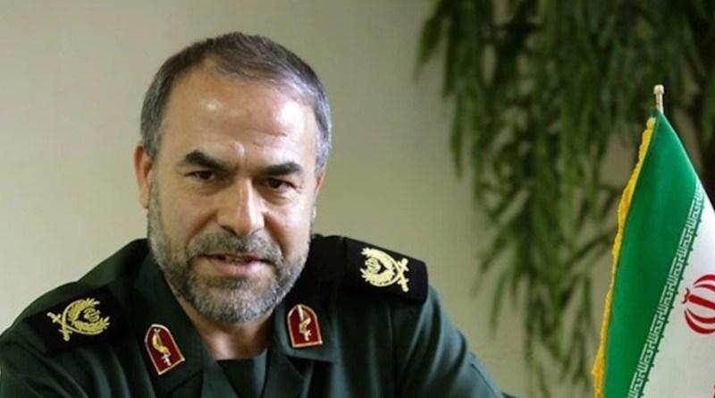 Iran's Yadollah Javani, an IRGC deputy head of political affairs. Photo Credit: Tasnim News Agency