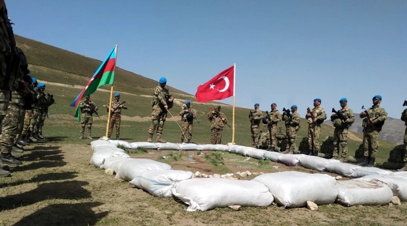 Azerbaijani and Turkish militaries kick off joint exercises on April 8. (Official publication)