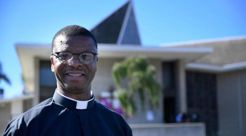 Father Aloysius Ezoenyeka/ Photo courtesy of Sacred Heart Catholic Parish.