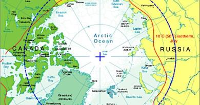 Arctic Circle. Credit: CIA World Fact Book