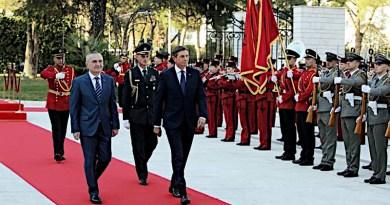 President of the Republic of Albania, Ilir Meta with the President of the Republic of Slovenia, Borut Pahor (Photo supplied)