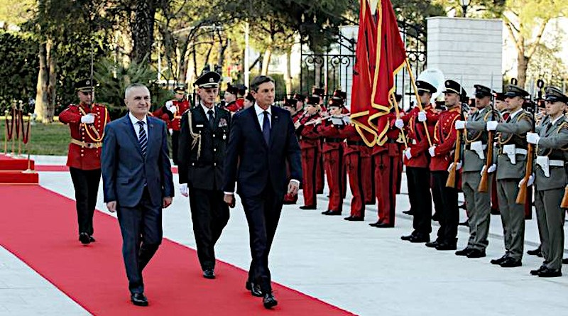 President of the Republic of Albania, Ilir Meta with the President of the Republic of Slovenia, Borut Pahor (Photo supplied)