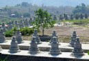 Mrauk-U structures on Mya Yadanar Hill in Thandwe Township, Arakan State, Myanmar. Photo Credit: DMG