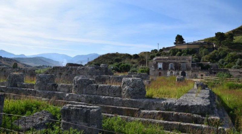 Temple of Victory at Himera, Sicily, constructed by the defeated Carthaginians after the first Battle of Himera in 480 BCE. CREDIT Katherine Reinberger