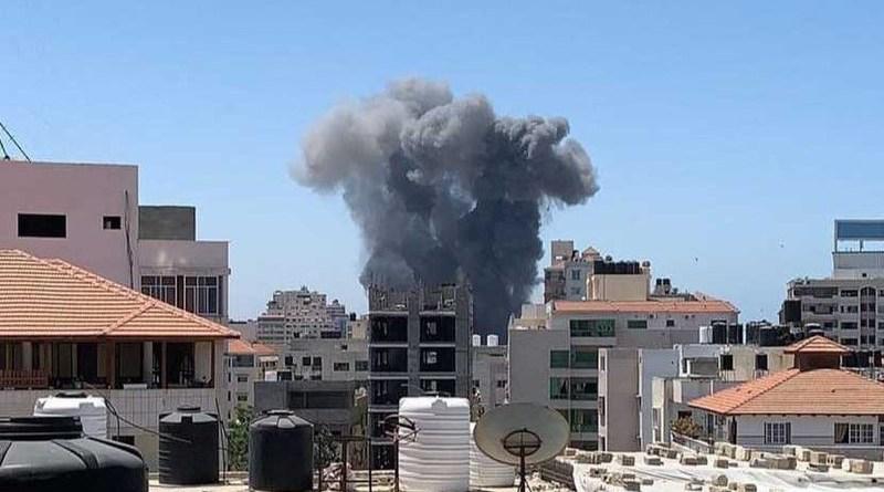 Israeli bombing of the Gaza Strip
