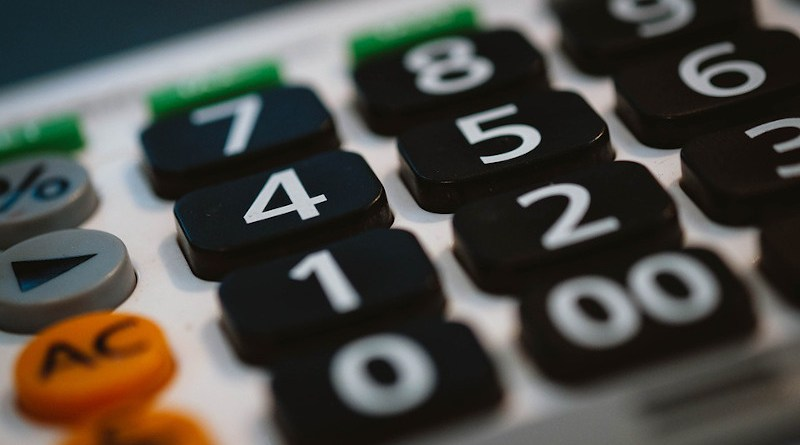 Calculator Business Office Accounting Finance