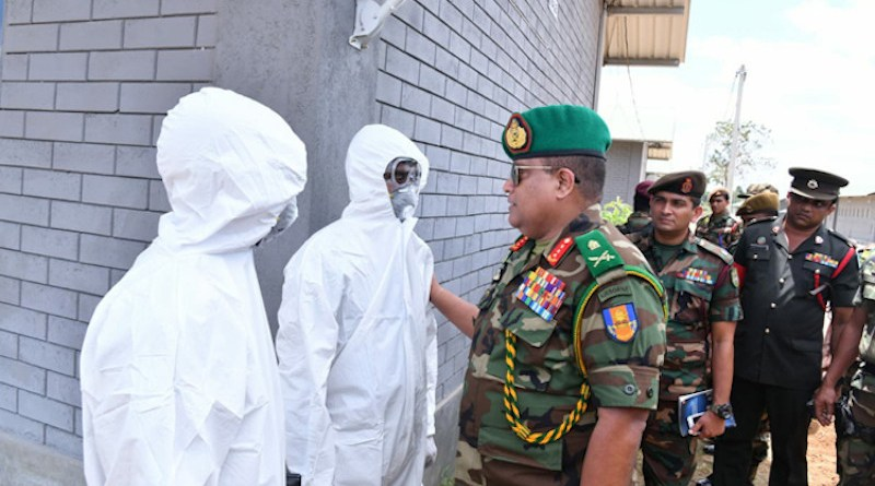 As directed by the Sri Lanka President and Commander-in-Chief of the Armed Forces, together with authorities in the Health Ministry and the Ministry of Defence, the Army has thrown its full weight behind this national priority. Credit: Sri Lanka Army.