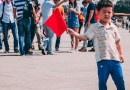 Boy China Flag Red Flag