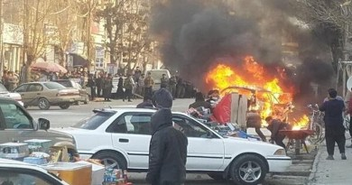 Car bomb in Kabul, Afghanistan. Photo Credit: Mehr News Agency