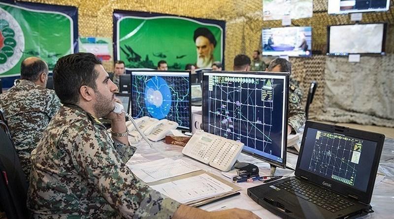 Iranian military electronic surveillance. Photo Credit: Tasnim News Agency
