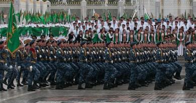 Internal Troops of Turkmenistan. Photo Credit: Kerri-Jo Stewart, Wikipedia Commons