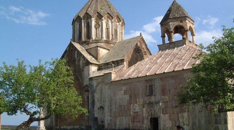 Gandzasar Monastery, seat of Albanian (Aghvank) Catolicasate in Karabakh, until 1836 Photo Credit: Bursteam, Wikipedia Commons