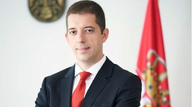 Serbia's Marko Djuric. Photo Credit: Embassy of Serbia in Washington DC