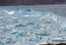 The Helheim Glacier is a possible analog for the future behavior of the much larger glaciers on Antarctica. CREDIT Knut Christianson