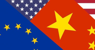 flags united states european union china