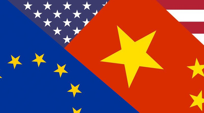 flags united states european union china