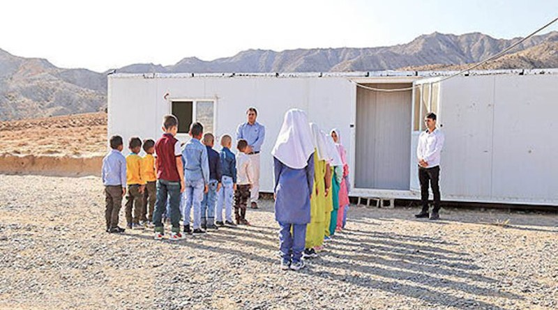 A container school in Iran (Photo supplied)