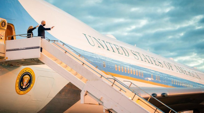 US President Joe Biden and First Lady Jill Biden arrive in UK. Photo Credit: The White House