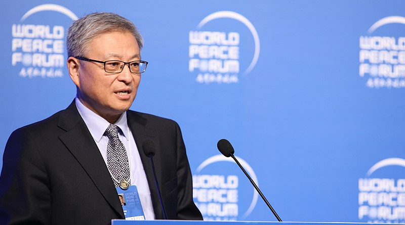 Prof. Yan Xuetong. Photo Credit: Xxxiaojiu, Wikipedia Commons