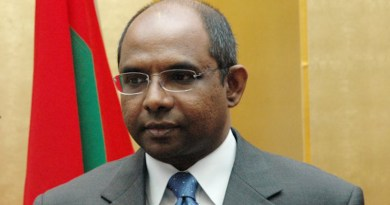File photo of the Maldives' Abdulla Shahid. Photo Credit: Alirazzan, Wikipedia Commons