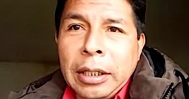 Peru's Pedro Castillo. Photo Credit: La Encerrona, Wikipedia Commons