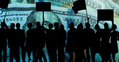 dollar protest demonstration activism