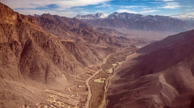 Eastern Afghanistan is seen from a UH-60 Black Hawk helicopter. Photo Credit: Army Spc. Jeffery Harris