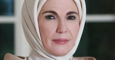 Turkey's Emine Erdogan. Photo Credit: Yasin Bulbul, Wikipedia Commons