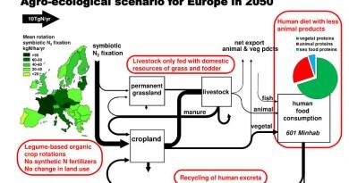Diagram of a possible agro-ecological scenario for 2050. CREDIT © Gilles Billen