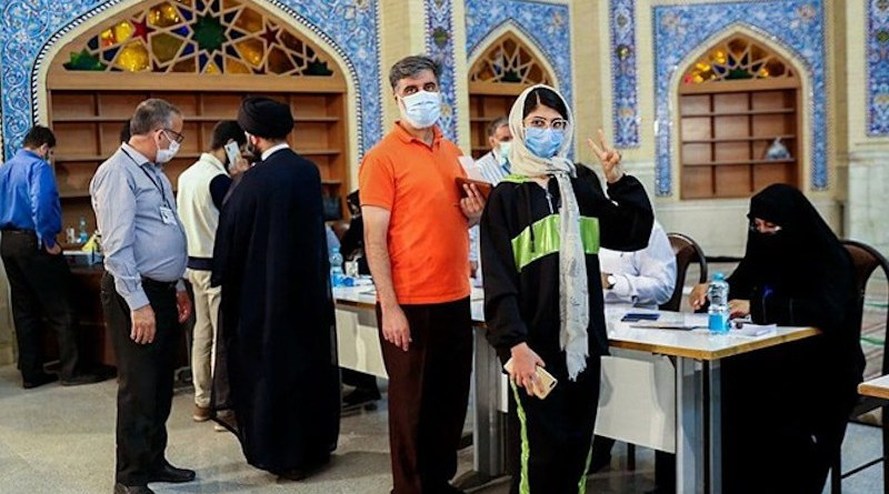 Iranians voting in Presidential Elections. Photo Credit: Fars News Agency
