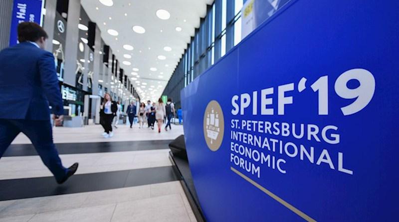 SPIEF 2019. (Photo supplied)