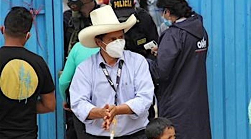 Peru's Pedro Castillo. Photo Credit: Tasnim News Agency