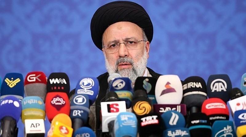 Iran's Ebrahim Raeisi. Photo Credit: Tasnim News Agency