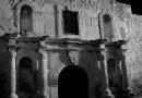 Texas The Alamo Night Evening Sky Dark Landmark