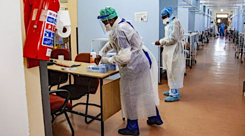 Health workers in South Africa. Photo Credit: SA News