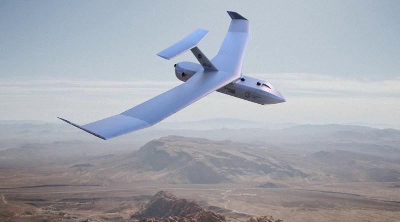 A Paramount swarming N-Raven drone (UAV). Credit: Paramount
