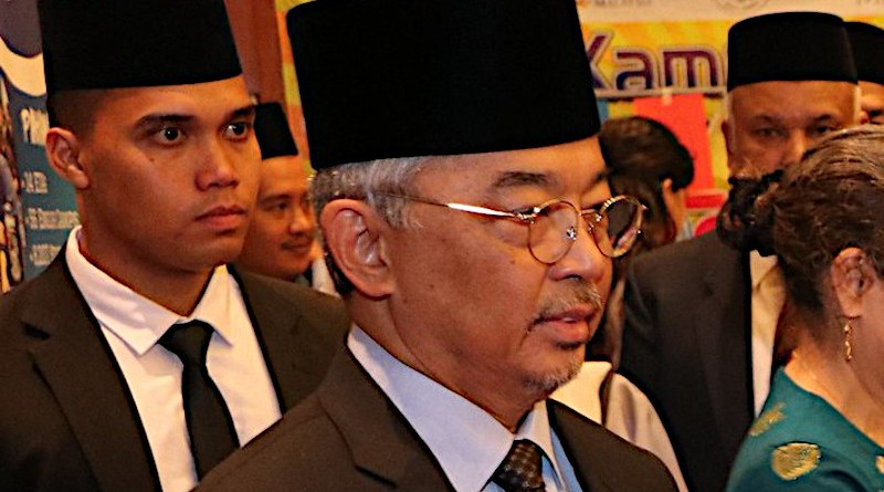 File photo of Malaysia's King Al-Sultan Abdullah Ri'ayatuddin Al-Mustafa Billah. Photo Credit: Wikipedia Commons
