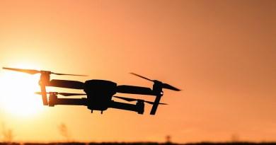 Camera Drone Photography Sunset View Sky Horizon