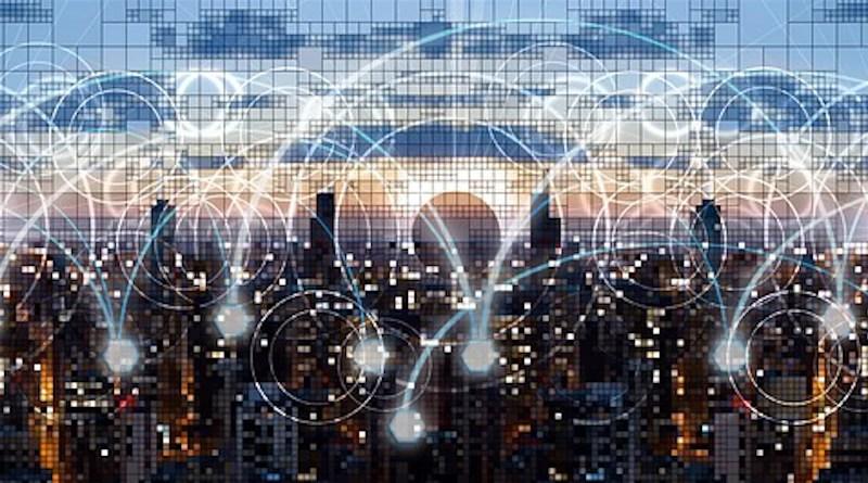 Network Web Skyline Pixel Data Data Transfer Technology Metadata