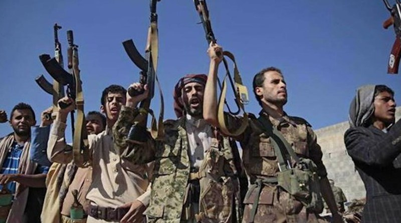 File photo of Houthi soldiers and supporters in Yemen. Photo Credit: Fars News Agency