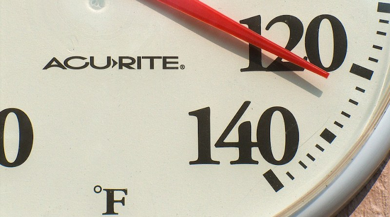 Thermometer Weather Temperature Hot Summer 120 Gauge