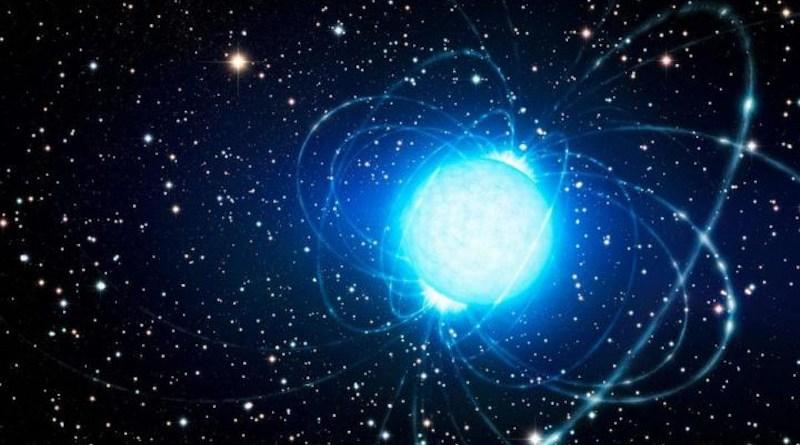 Artist's depiction of a neutron star. CREDIT ESO / L. Calçada